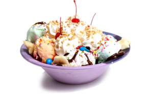 Ice Cream Sundae PNG Transparent Picture PNG Clip art