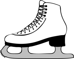 Ice Skating Shoes PNG Transparent PNG Clip art