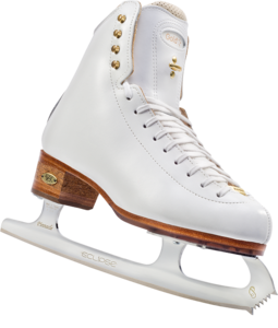 Ice Skating Shoes Transparent Background PNG clipart