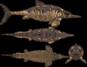 Ichthyosaur PNG File PNG Clip art