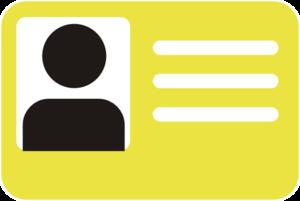 ID Badge Transparent PNG PNG Clip art