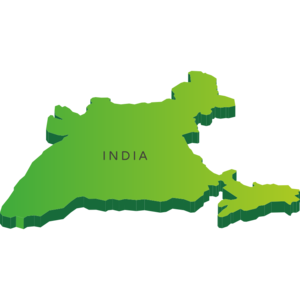 India Map PNG Picture PNG clipart