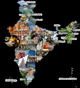 India Map PNG Transparent PNG Clip art