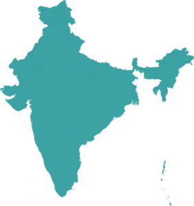 India Map Transparent Background PNG Clip art