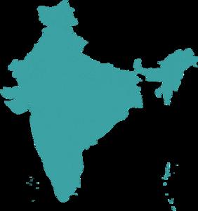 India Map Transparent Background PNG Clip art