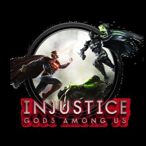 Injustice Logo PNG File PNG image
