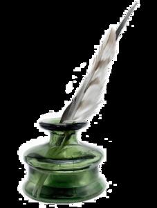 Ink Pot Transparent Background PNG Clip art