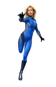 Invisible Woman PNG Image PNG Clip art
