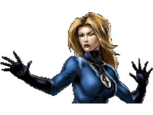 Invisible Woman PNG Transparent File PNG Clip art