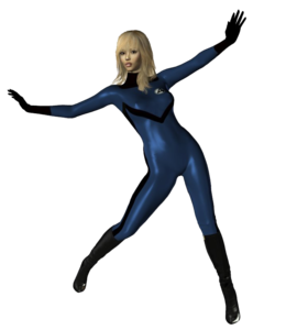 Invisible Woman PNG Transparent Image PNG icon