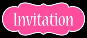Invitation Download PNG Image PNG Clip art