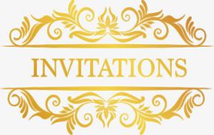 Invitation PNG File PNG Clip art