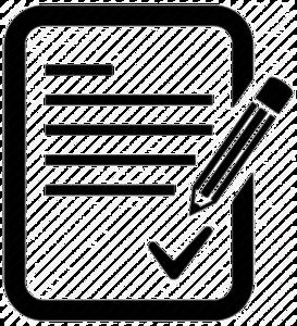 Invoice Transparent Background PNG Clip art