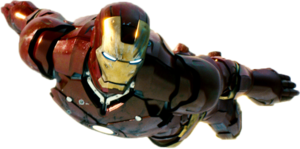 Iron Man Flying PNG File PNG Clip art
