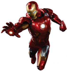 Iron Man Flying Transparent Background PNG Clip art