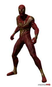 Iron Spiderman PNG Pic PNG Clip art