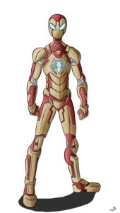 Iron Spiderman PNG Transparent Image PNG Clip art