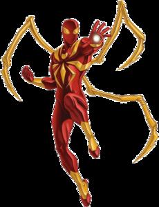 Iron Spiderman Transparent PNG PNG Clip art