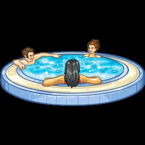 Jacuzzi Bath PNG Image PNG Clip art