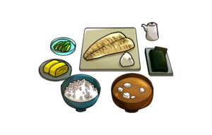 Japanese Breakfast PNG Photos PNG Clip art