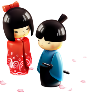 Japanese Doll Download PNG Image PNG Clip art