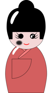 Japanese Doll PNG Background Image PNG Clip art