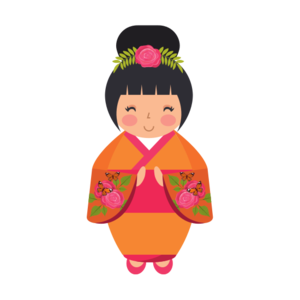 Japanese Doll PNG Free Download PNG Clip art