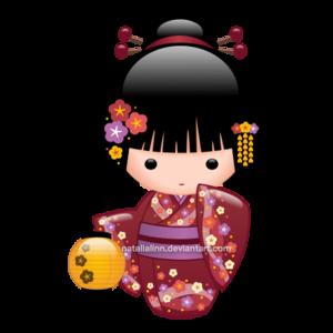 Japanese Doll PNG Transparent Image PNG Clip art