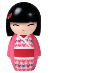 Japanese Doll Transparent Background PNG Clip art