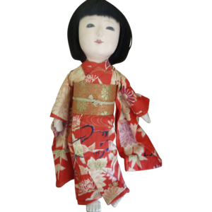 Japanese Doll Transparent PNG PNG Clip art