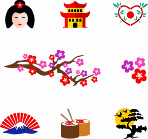 Japanese Elements PNG Clipart PNG Clip art