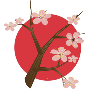 Japanese Flowering Cherry PNG Free Download PNG Clip art