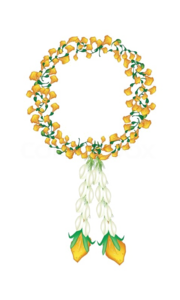 Jasmine Garland PNG File PNG Clip art
