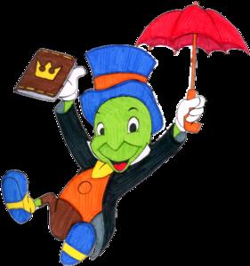 Jiminy Cricket Transparent Background PNG Clip art