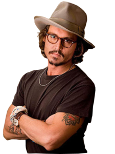 Johnny Depp PNG Transparent PNG Clip art