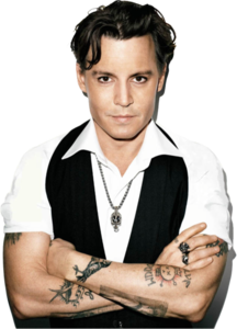 Johnny Depp Transparent Background PNG Clip art