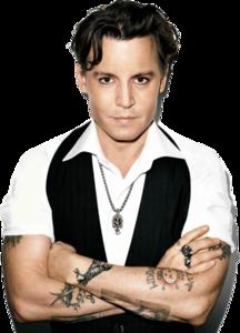 Johnny Depp Transparent Background PNG Clip art