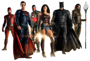 Justice League PNG Transparent Image PNG icon