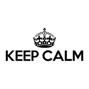 Keep Calm Transparent PNG PNG Clip art
