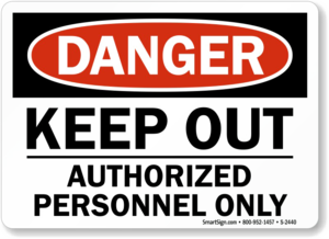 Keep Out Danger PNG Clipart PNG icon