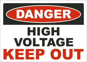 Keep Out Danger PNG File PNG clipart