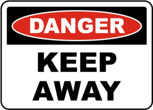 Keep Out Danger PNG Image PNG Clip art