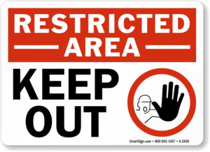 Keep Out PNG Free Download PNG Clip art