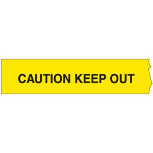 Keep Out Police Tape PNG File PNG Clip art