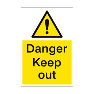 Keep Out Transparent PNG PNG Clip art