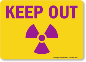 Keep Out Warning PNG Pic PNG clipart