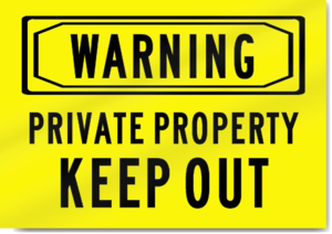 Keep Out Warning Transparent Background PNG Clip art
