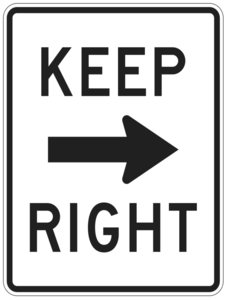 Keep Right PNG File PNG Clip art