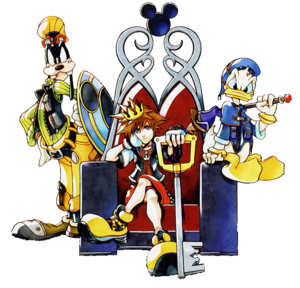 Kingdom Hearts Transparent PNG PNG Clip art