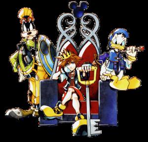 Kingdom Hearts Transparent PNG PNG Clip art